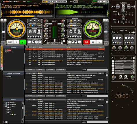 dj audio mixing software free download full version download software download software dj pro mixer 1 5 full