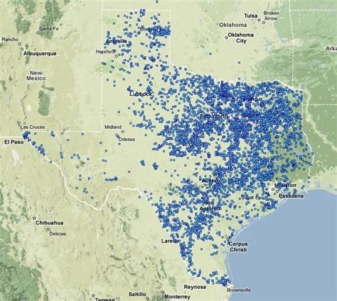 fracking texas map map stateimpact texas page 2