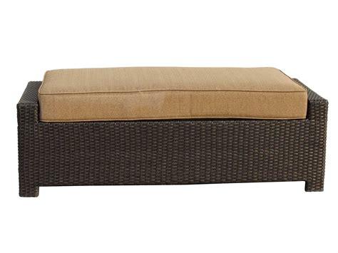 vienna ottoman darlee outdoor living vienna replacement rectangular