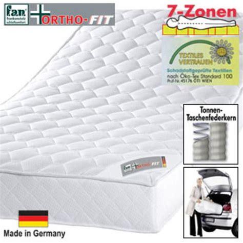 Matratze Real by 7 Zonen Tonnen Taschenfederkern Matratze Real Ansehen