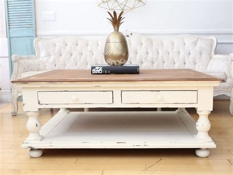 shabby chic coffee table with drawers shabby chic coffee table with drawers coffee shabby chic