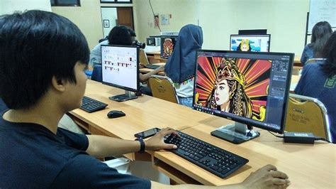 aplikasi yang digunakan desain komunikasi visual akan ikut pameran di malaysia ini yang disiapkan