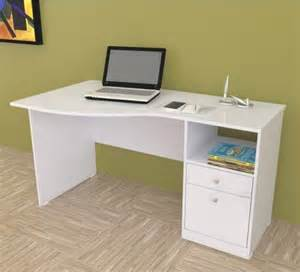 Home Office Desk Top Accessories Curved Computer Desk With Shelf Modern Home Office Accessories