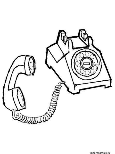 phone coloring pages   print phone coloring pages