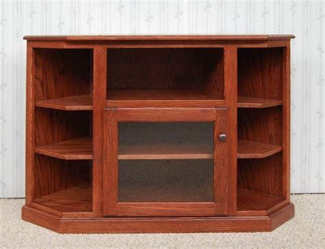 Corner Entertainment Center   De Vries Woodcrafters