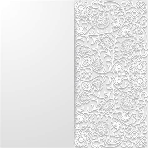 white pattern background vector white background art vector 08 vector background free