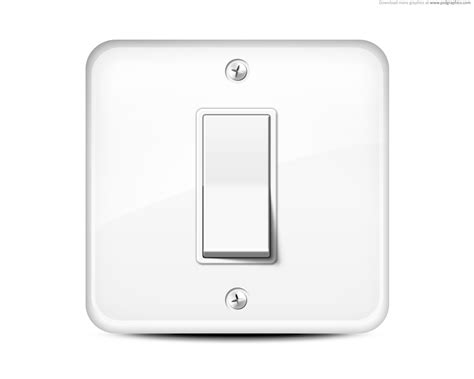 light switch icon psdgraphics