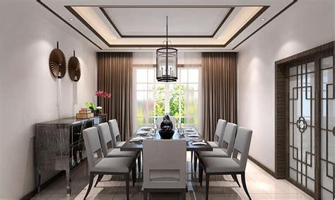 Elegant restaurants and ceiling design
