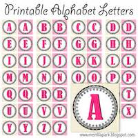 printable round banner letters round up of free alphabet printables letters monograms