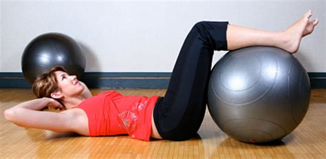 exercises core stability physioball fitness instructor proactive fitness personal