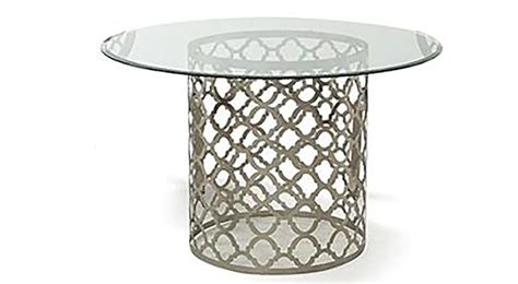 quatrefoil side table modern bedroom sussex by the quatrefoil dining table dr sofa so good