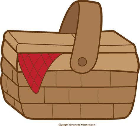 clipart basket free picnic clipart