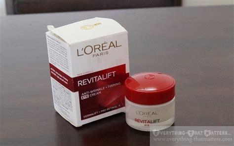 Loreal Revitalift Eye Anti Wrinkle Firming l oreal revitalift anti wrinkle firming eye review everything that matters