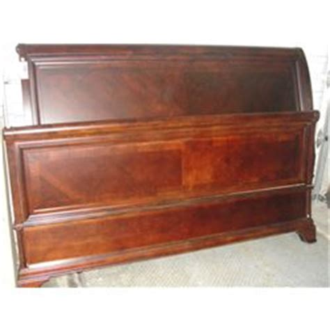 King Size Bed Headboard And Footboard by King Size Cherry Finish Bed Headboard And Footboard No