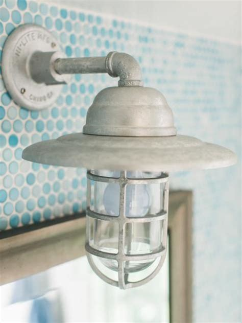 Coastal Vanity Light Home 2016 Guest Bathroom Bathroom Vanity Mirrors Hgtv Home 2016 And Style