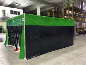 cabine de meulage gain de place transportables deja montee