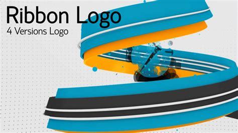 ribbon logo reveal ribbon logos by johnny ek videohive