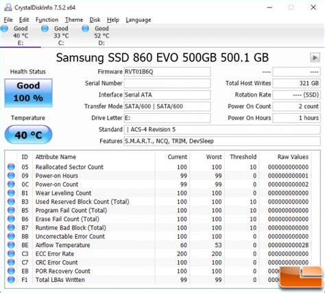 samsung 860 evo 500gb sata ssd review page 2 of 7 legit reviewsthe ssd benchmark test system