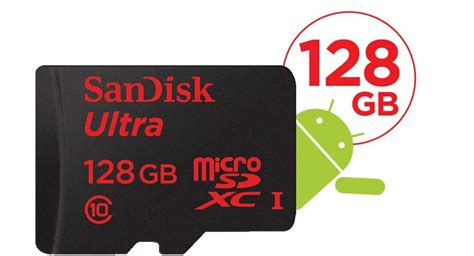 Micro Sd Sandisk Android sandisk annonce des cartes microsd 128 go au mwc