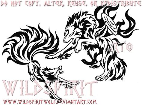 amaterasu vs kyuubi tattoo by wildspiritwolf on deviantart