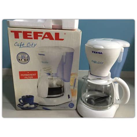 Coffee Maker Tefal tefal cafe city coffee maker machine home appliances on