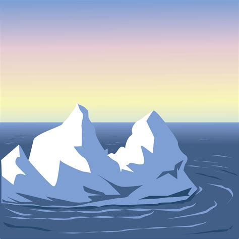 clipart iceberg iceberg clipart clipart collection iceberg vector