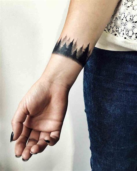 nature wrist tattoos best 25 wrist band ideas on cuff