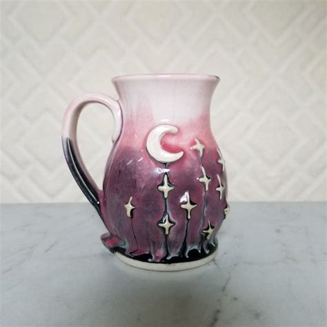 Galaxy Pottery | galaxy inspired clay pottery is a stellar way to enjoy