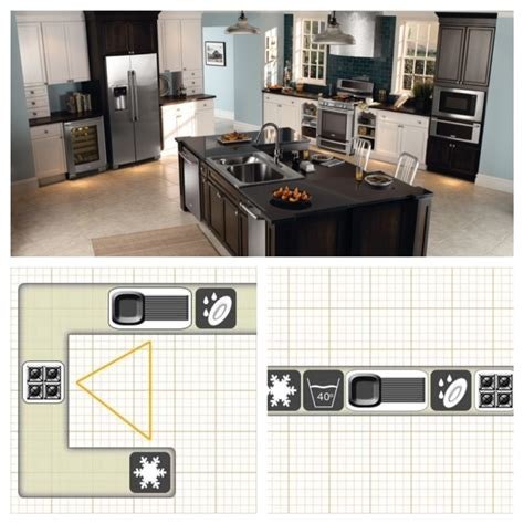 most efficient kitchen layout pin by teresa dalrymple on kitchen