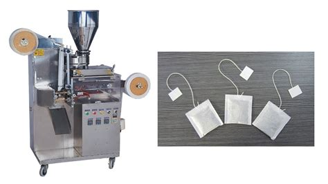 Tea Bag Machine Tea Machine Tea Tea Bag Paper by Automatic Tea Bag Packing Machine Tea Bag With Thread And Tag Packaging Machine