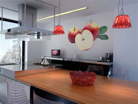 wall sticker apple orchard kitchen stickers home decor