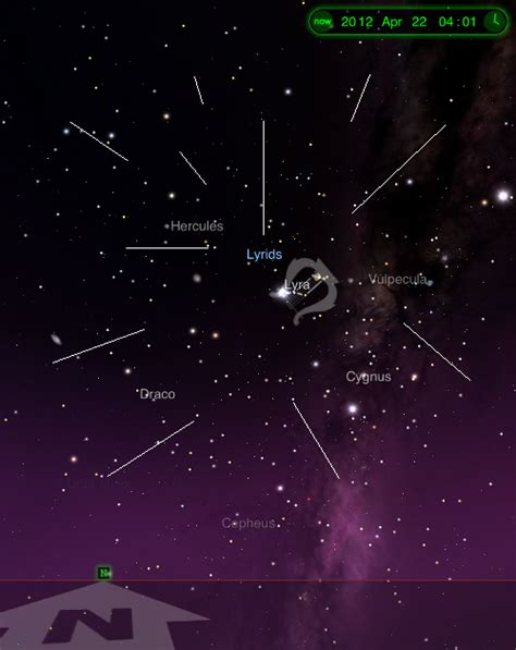 lyrid meteor shower livestream i z reloaded daily online refreshments watch out for