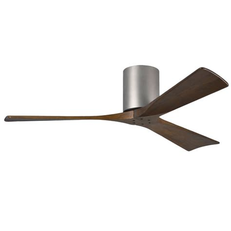 brushed nickel ceiling fan with remote atlas irene 3 hugger ceiling fan with remote
