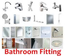 comprehensive list of must bathroom fittings