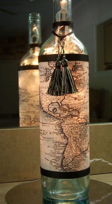 How To Turn A Wine Bottle Into A L by 25 Best Ideas About Wine Bottle Wrapping On
