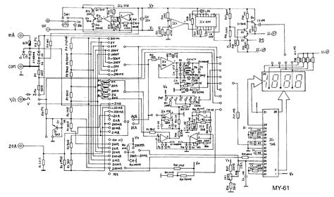 Icl Led Silicon multimeter schematic wiring diagram components