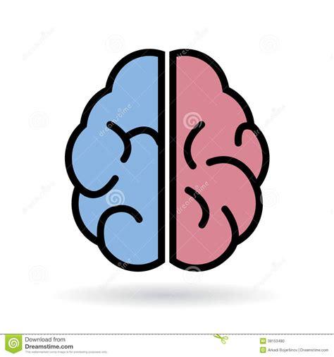 Foto Vector icono vector cerebro foto de archivo imagen