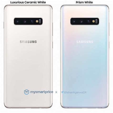 Samsung Galaxy S10 White by Luxurious Ceramic White Galaxy S10 Is The Second Ceramic Version