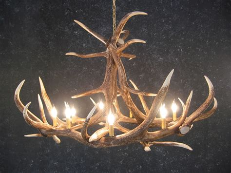 Deer Antler Chandelier For Sale Elk 6 Antler Chandelier Sale