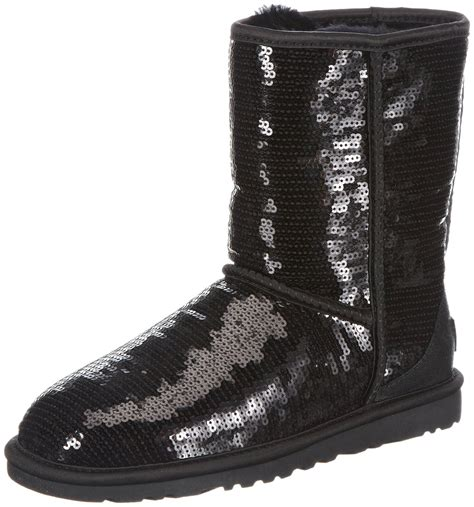 ugg black boots ugg classic sparkles boot