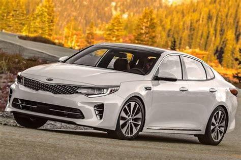 Kia Optima Ranking 2016 Kia Optima Lx Sedan Review Ratings Edmunds
