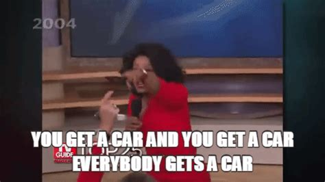 Oprah And You Get A Car by Oliver Gave Away 14 Million On His Show And Crushed