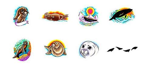 seal tattoos what do they mean seal tattoos designs