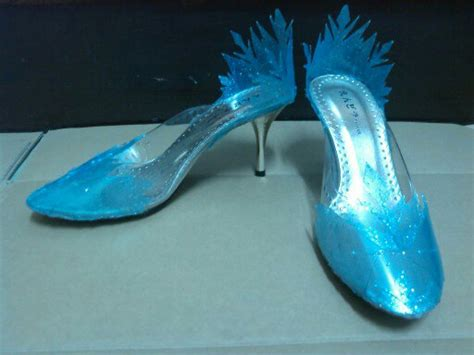 elsa shoes disney s frozen elsa s shoes by zero o4 on deviantart