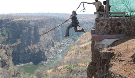 gorge swing gorge swing incl free sunset cruise zambezi eco adventures