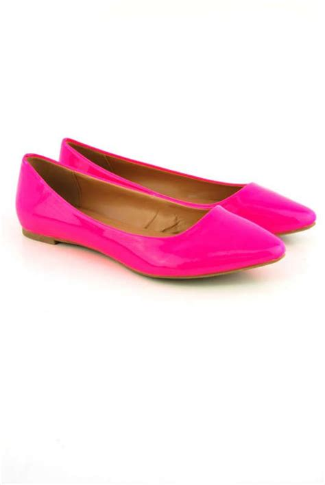 neon pink flat shoes 17 best images about pink flats on neon flat