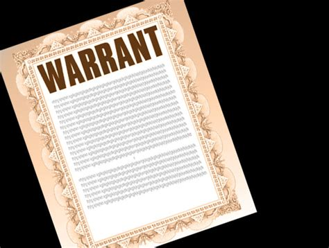 Writ Warrant Search Opinions On Warrant