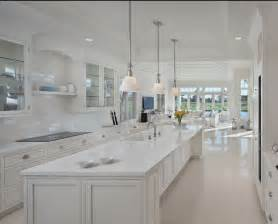 All White Kitchen by Jll Design No White After Labor Day