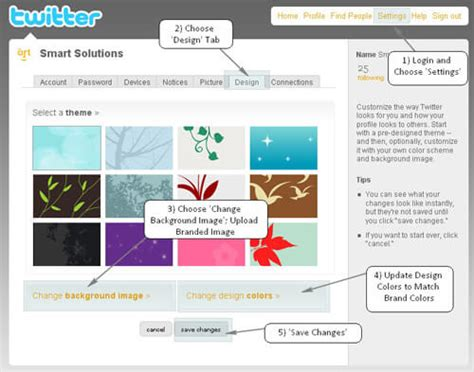 change layout on twitter twitter background design concepts how to change twitter