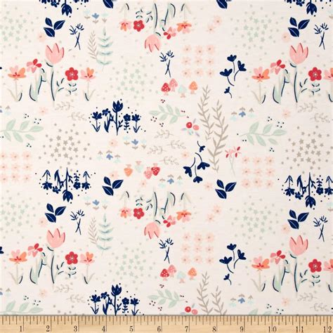 cotton knit print fabric printed cotton cotton blend jersey knit fabric